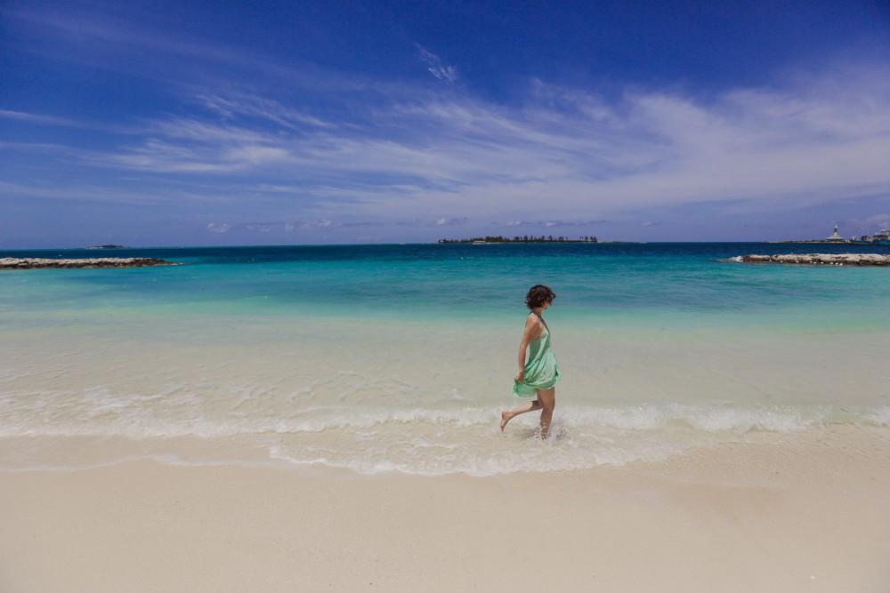 Olivia In Bahamas